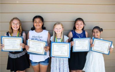 North County 5th Graders Receive Scholarships