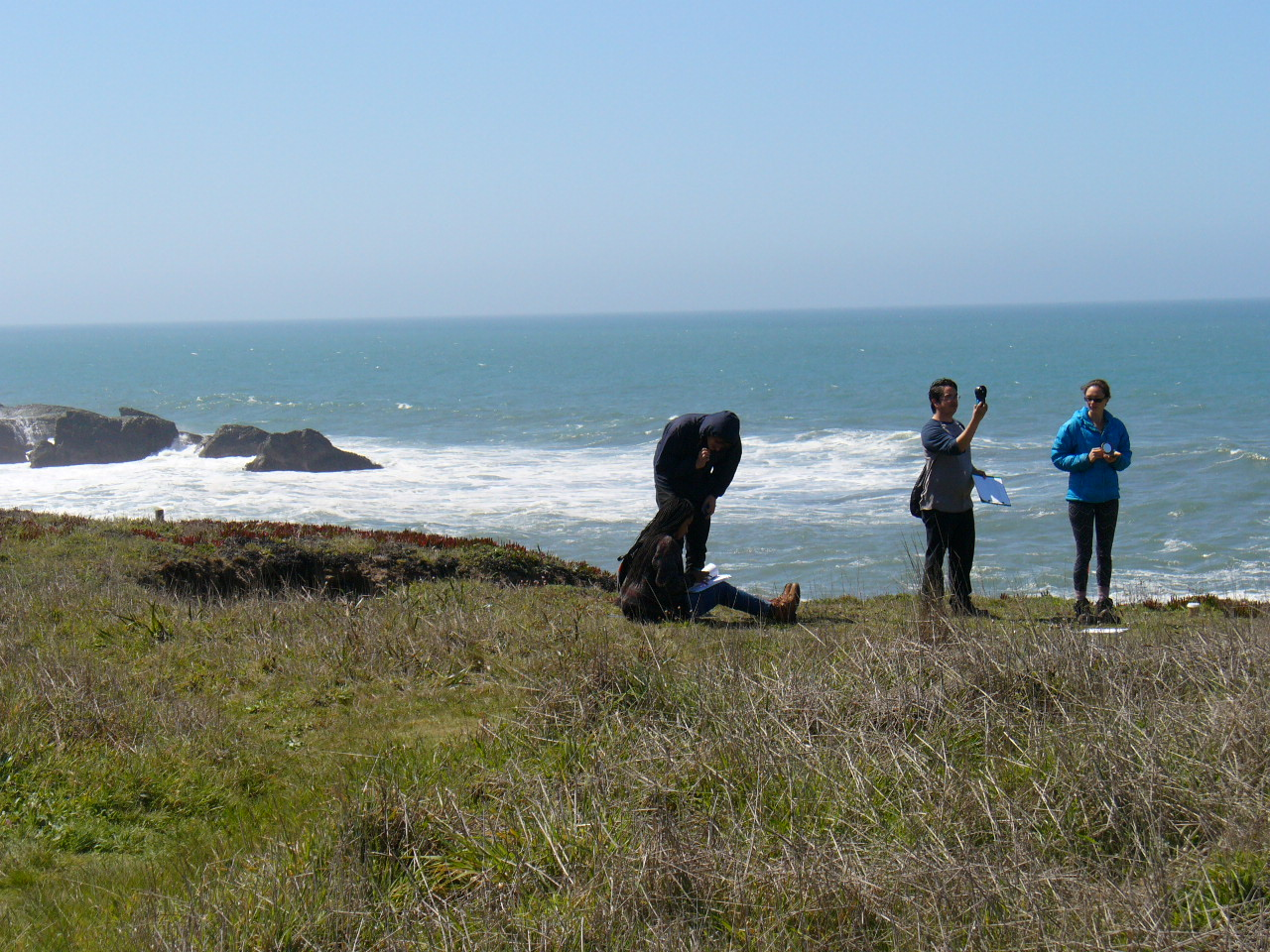 Students on the Mendocino Coast